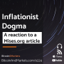Artwork for Inflationist Dogma - E224