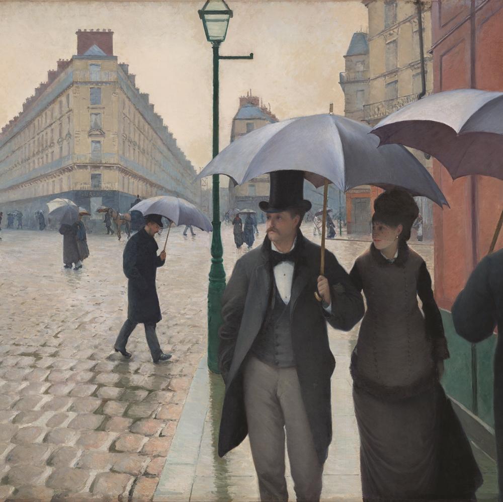 On Gustave Caillebotte, on Franz Kline