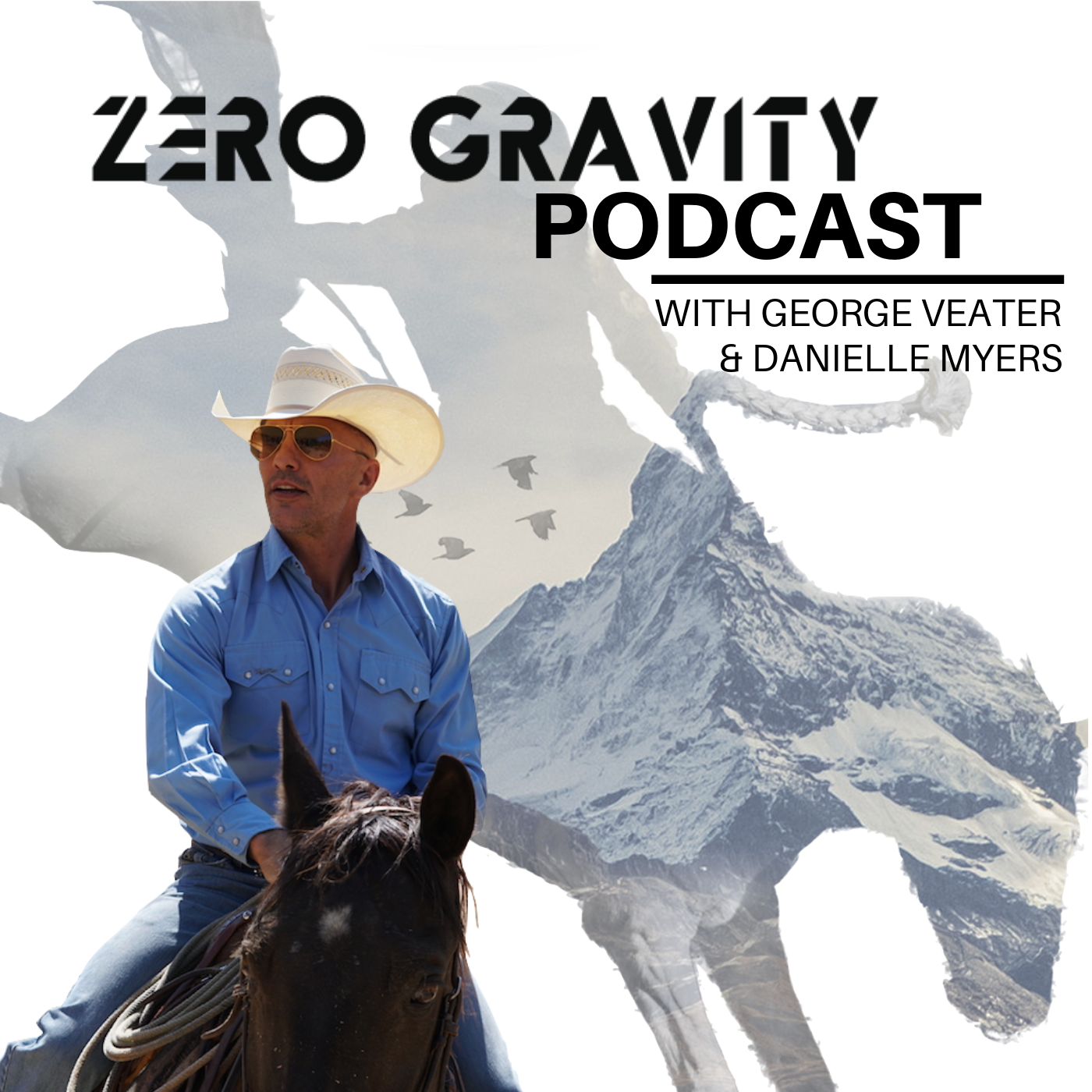 Zero Gravity Podcast with George Veater show art
