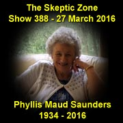 The Skeptic Zone #388 - 27.Mar.2016