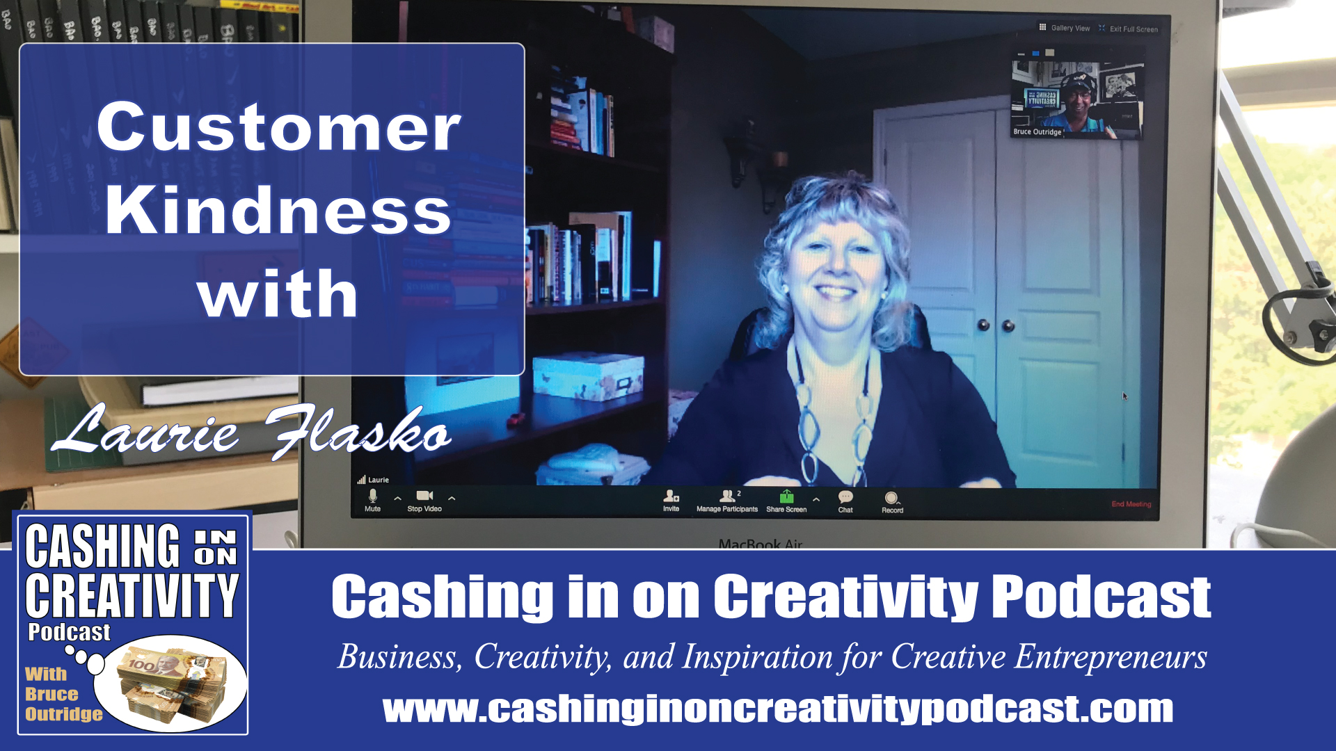 customer service with Laurie Flasko