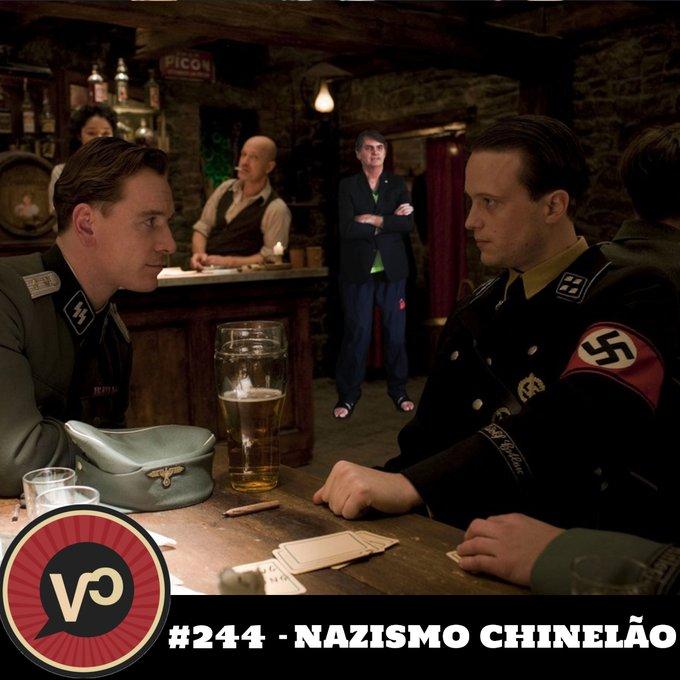 """#244 """"Nazismo Chinelão"""" - com Acácio Augusto"""
