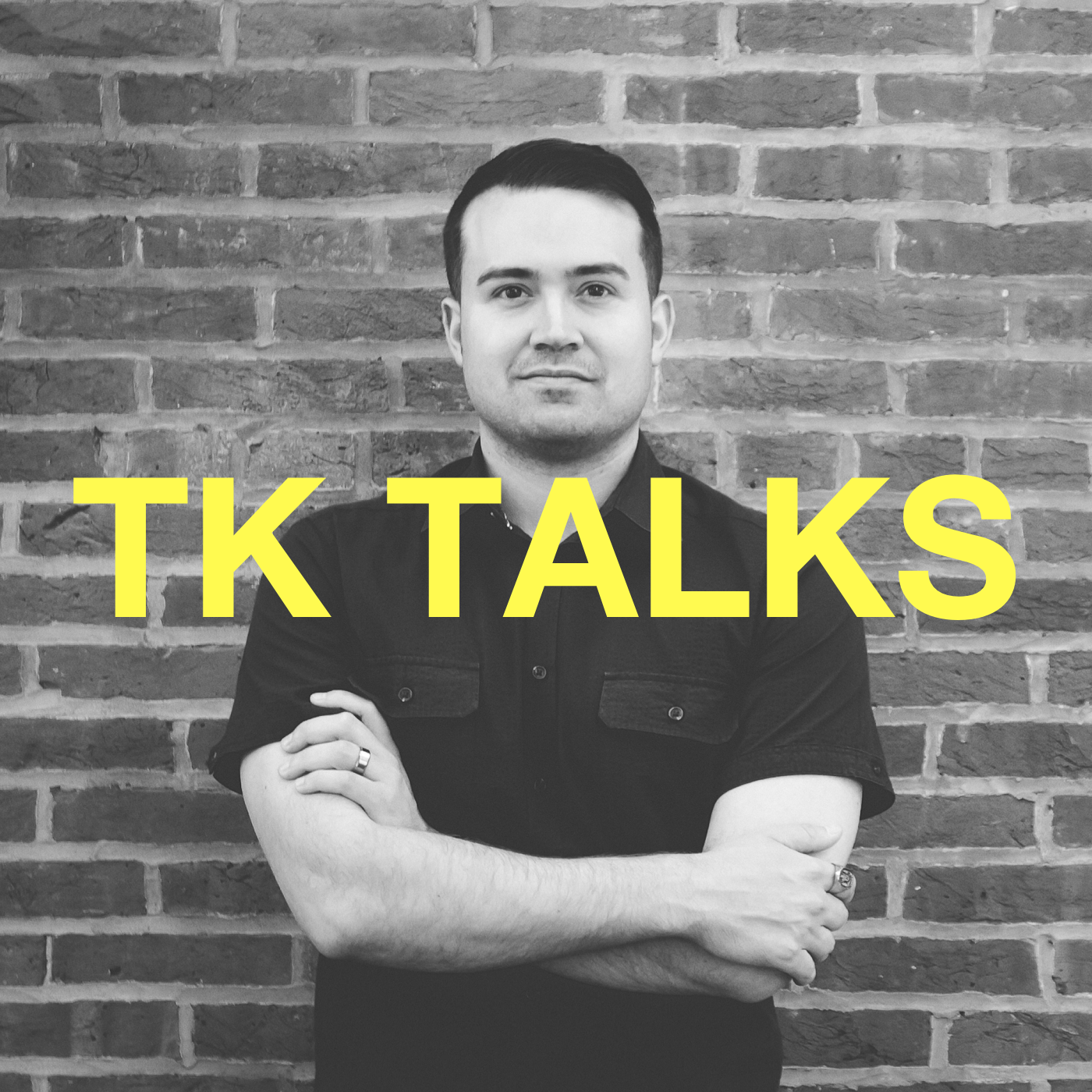 Artwork for TK Talks is one year old now!