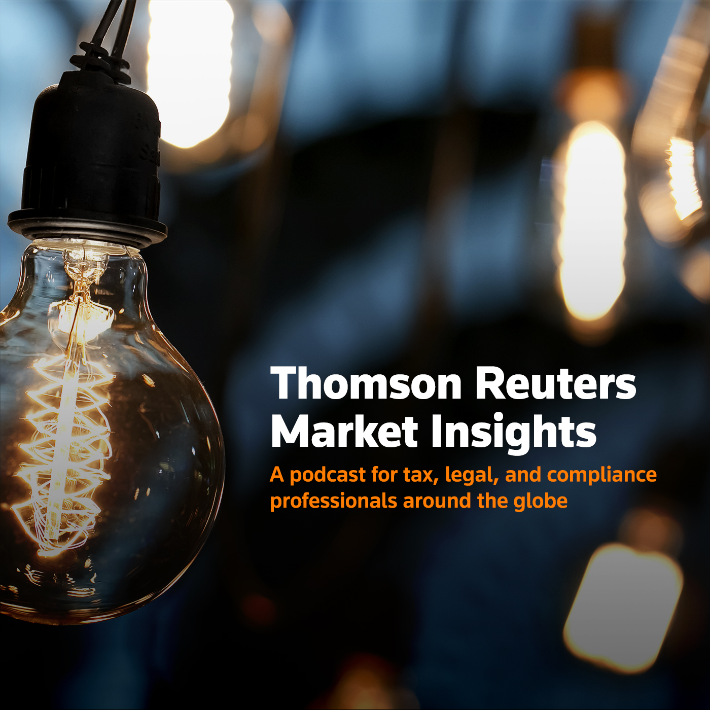 Thomson Reuters Institute Market Insights Podcasts show art