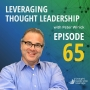 Artwork for Leveraging Thought Leadership With Peter Winick – Episode 65 - Jackie Woodside