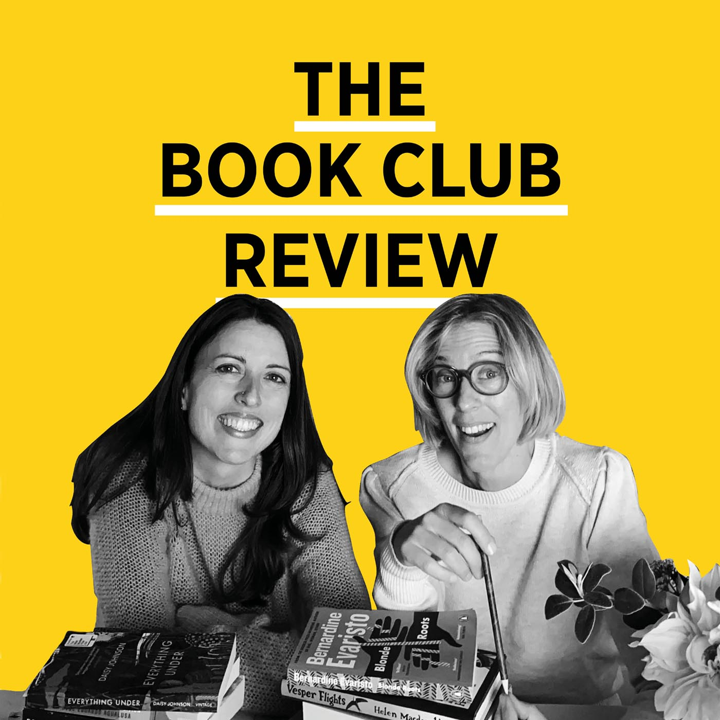 The Book Club Review show art