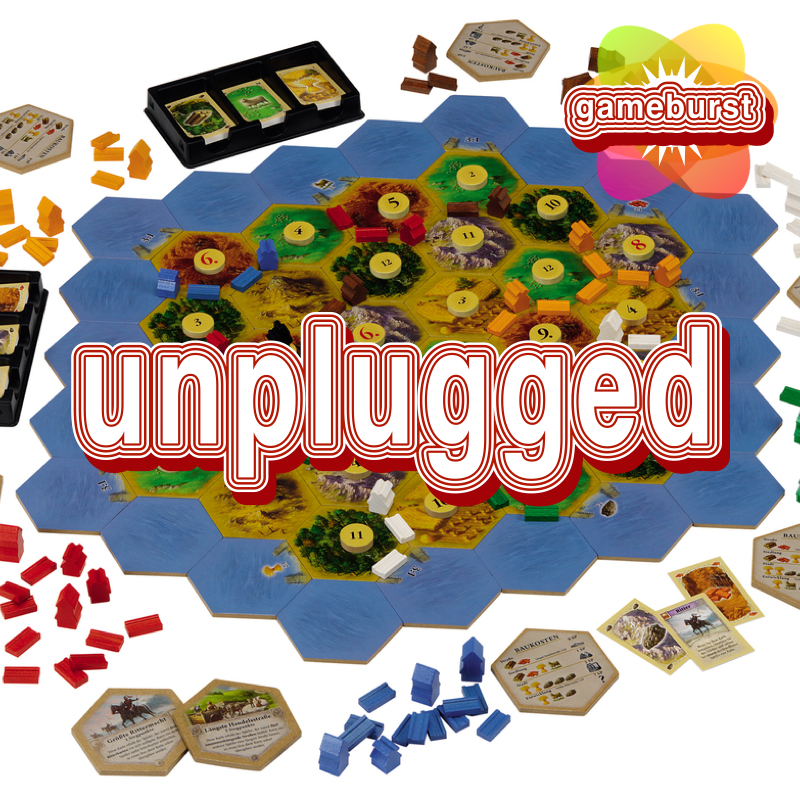 GameBurst Unplugged - Settlers of Catan