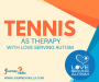 Artwork for 48 Tennis As Therapy With Love Serving Autism