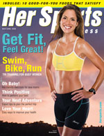 Her Sports & Fitness Magazine Editor Kristin Harrison. Drew Johnston Star of  Winning is Living. Pilates Expert Brooke Siler