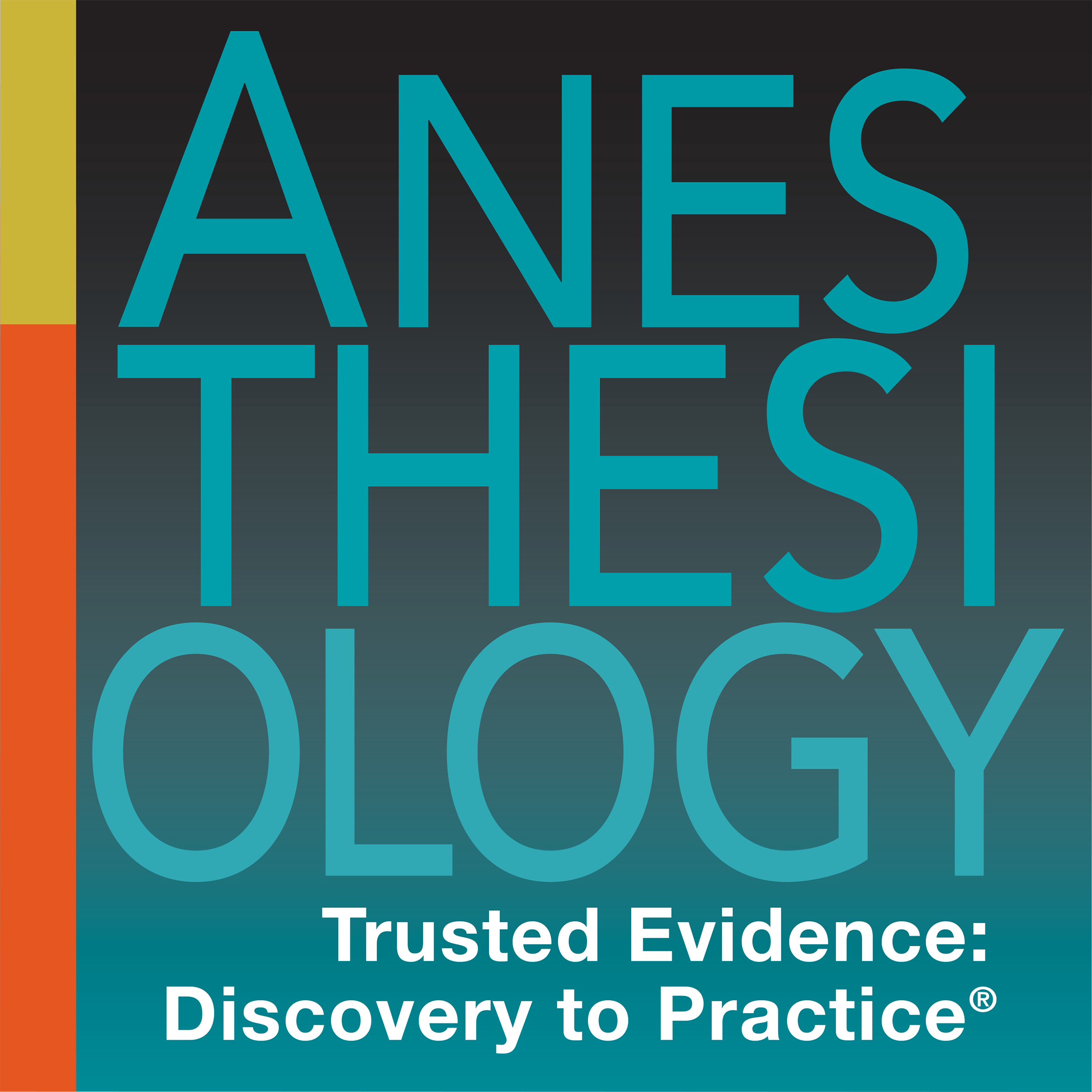 Anesthesiology Journal's podcast show art