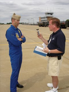 Airspeed - Blue Angels Opposing Solo LCDR Craig Olson