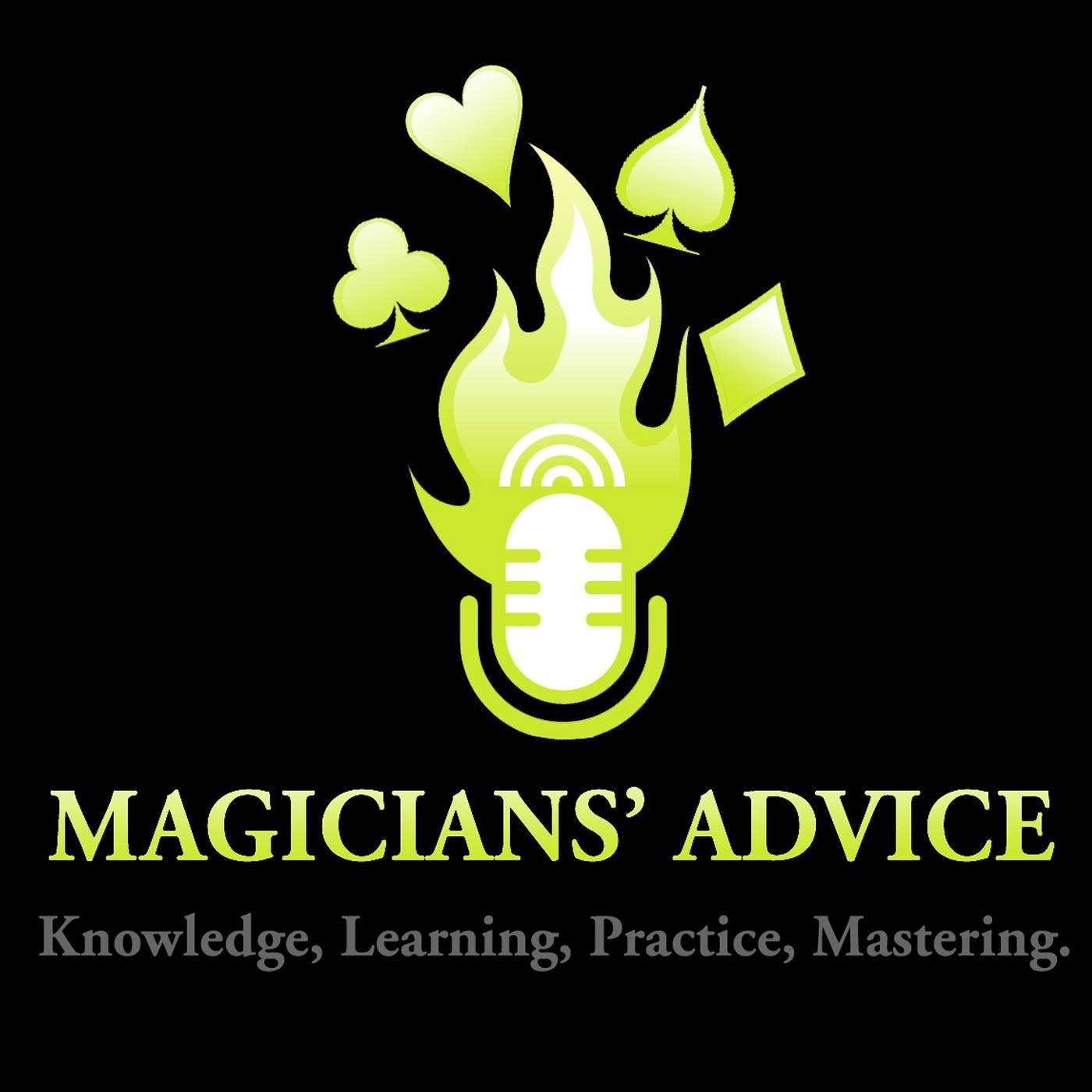 Magicians Advice Podcast show art