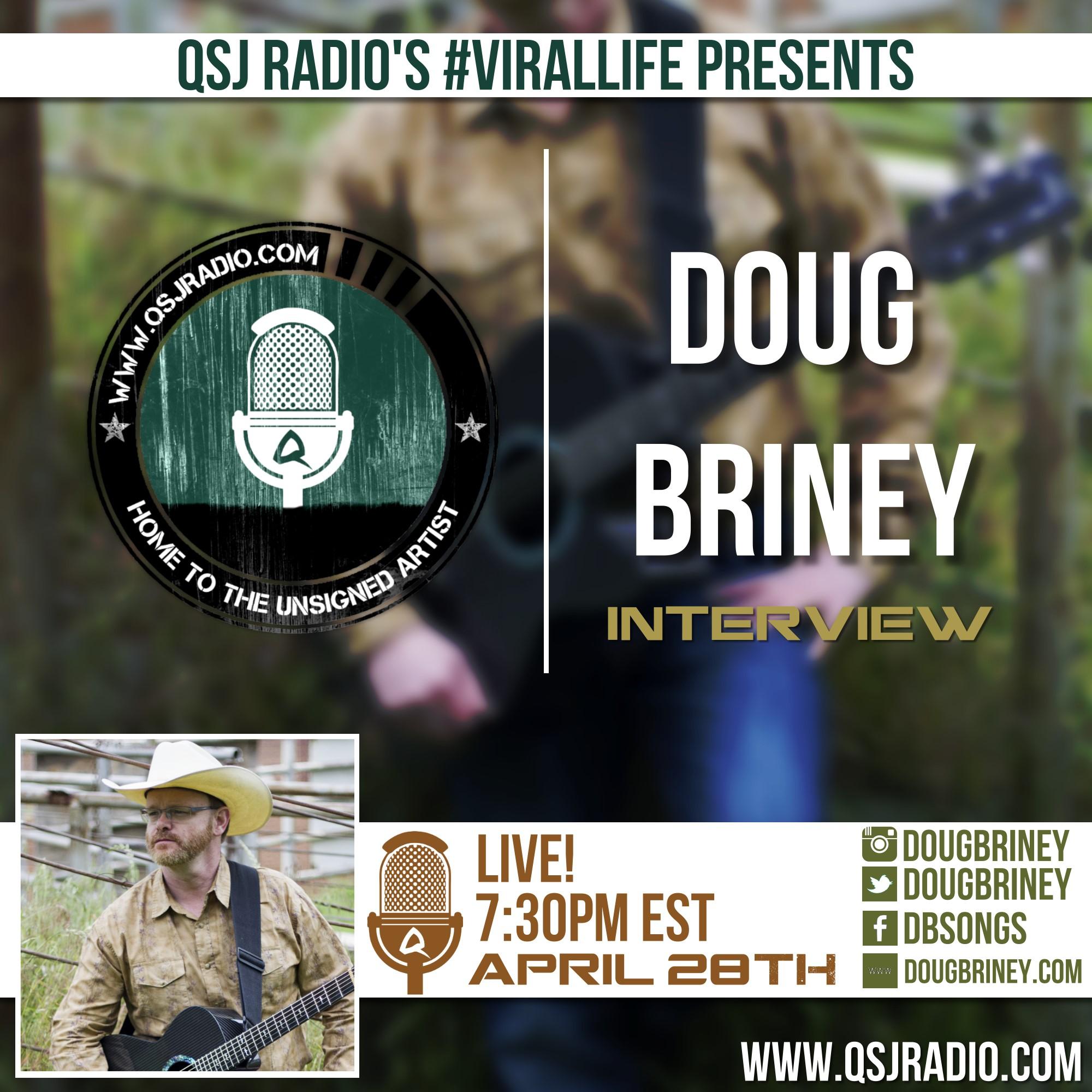 Artwork for 4.28.2015 QSJ Radio Interview | Doug Briney @DougBriney