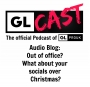 Artwork for Audio Blog: Out of office? What about your socials over Christmas?