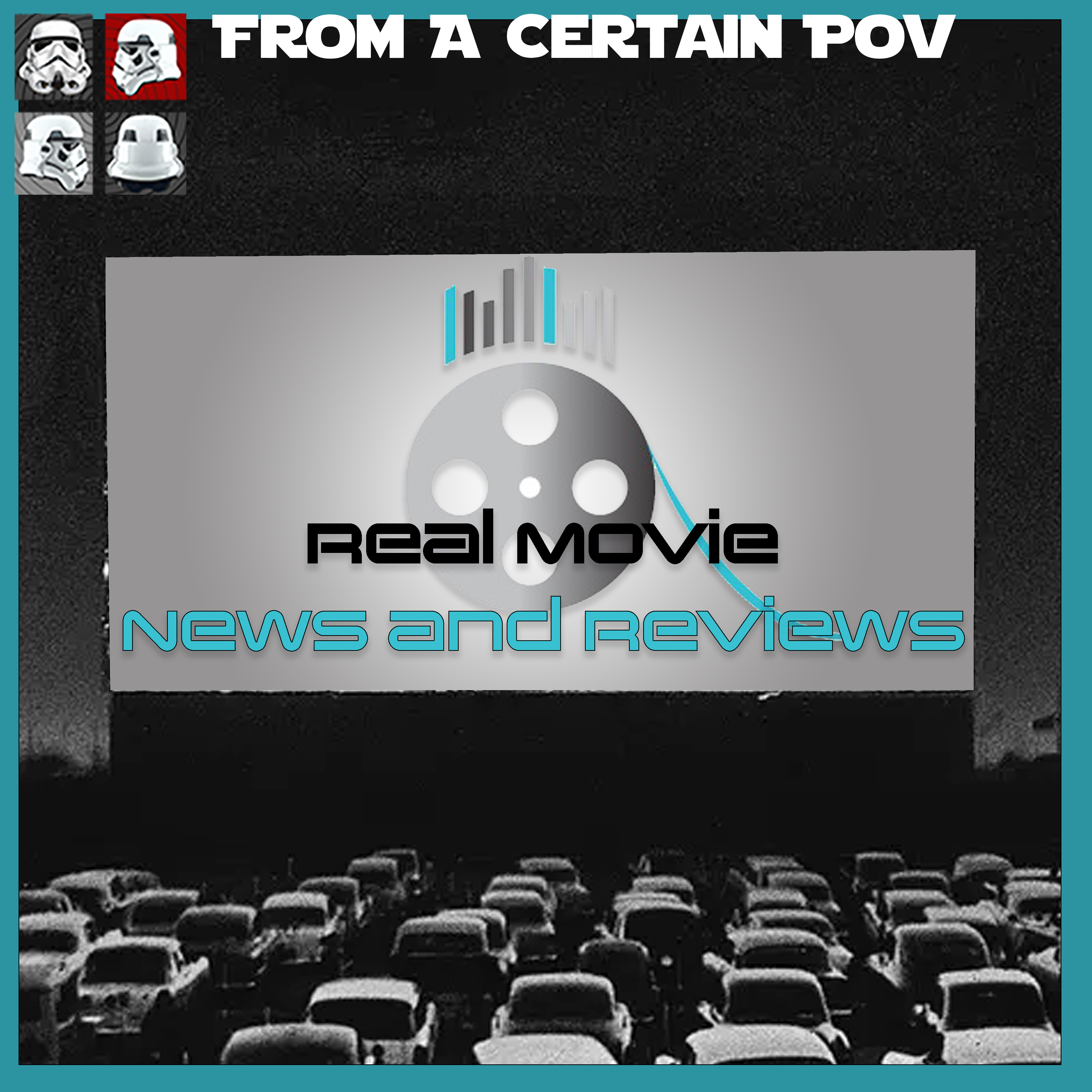 Real Movie News and Reviews show art