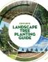 Artwork for Ontario Landscape Tree Planting Guide