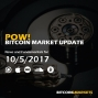 """Artwork for PoW Bitcoin: """"Market Update and Russia"""" - 10/5/2017"""