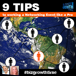52 - 9 Tips to Working a Networking Event Like a Pro