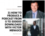 Artwork for 2) How to Produce a Podcast from 0 to 500000 Downloads with Victor Menasce