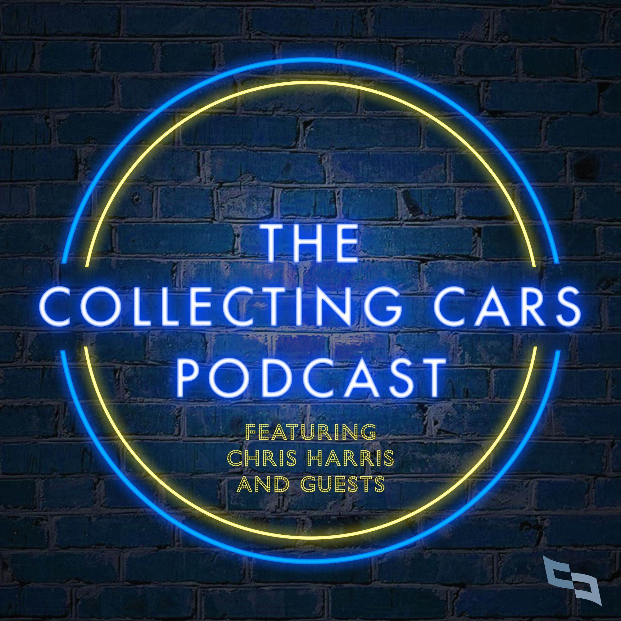 The Collecting Cars Podcast with Chris Harris show art