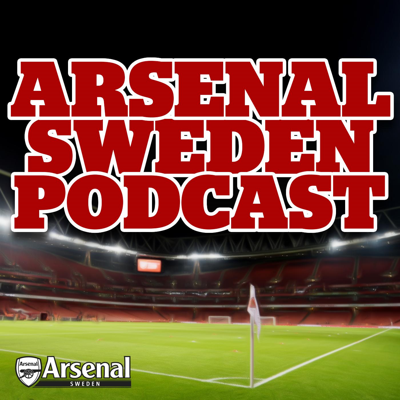 Arsenal Sweden Podcast show art