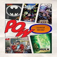 WIWC Comic Review Podcast 03 - Batman, Cosmic Odyssey, Iron Fist, Shazam, Hulk