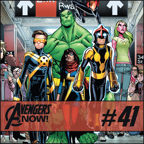 Cultural Wormhole Presents: Avengers Now! Episode 41