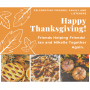 Artwork for Friends Helping Friends.  Happy Thanksgiving!!