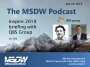 Artwork for MSDW Podcast: Inspire 2019 report, from the Dynamics SMB perspective