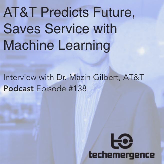 AT&T Predicts Future, Save Service with Machine Learning