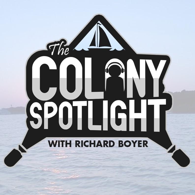 The Colony Spotlight show art