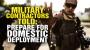 Artwork for Military contractors told to prepare for DOMESTIC deployment
