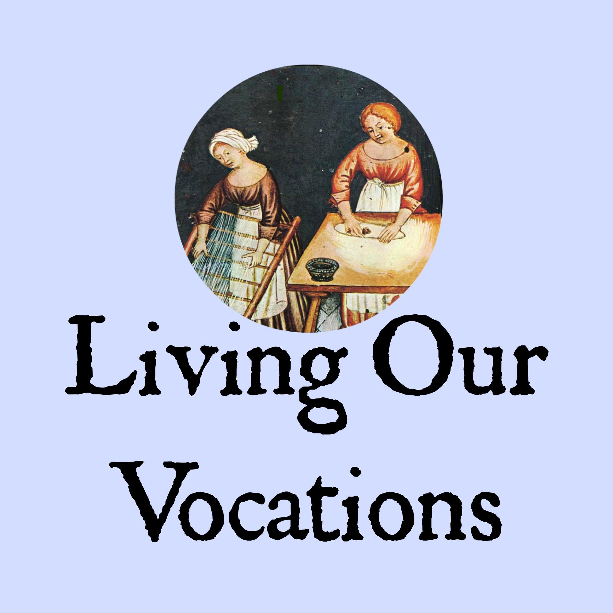 Living Our Vocations show art