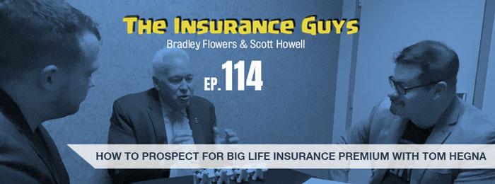 Tom Hegna on the Insurance Guys Podcast