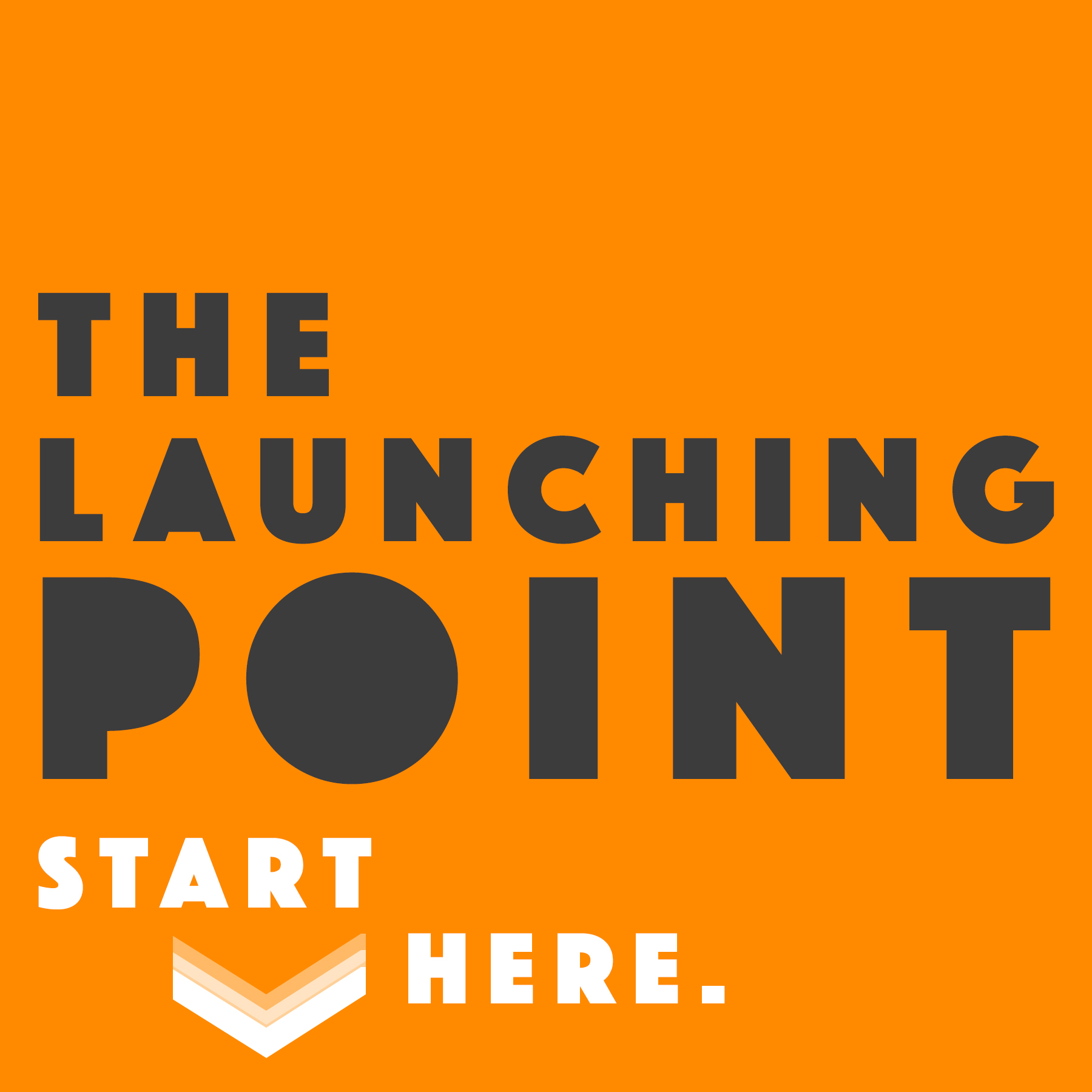 The Launching Point with Mike O'Toole show art