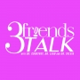 Artwork for 3 friends TALK 049 - SAVAGE TALK with Blair and Brandon Dottin-Haley of the #BLAIRISMS