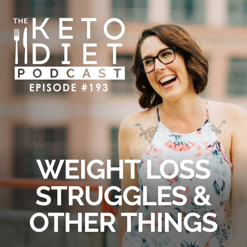 #193 Weight Loss Struggles & Other Things