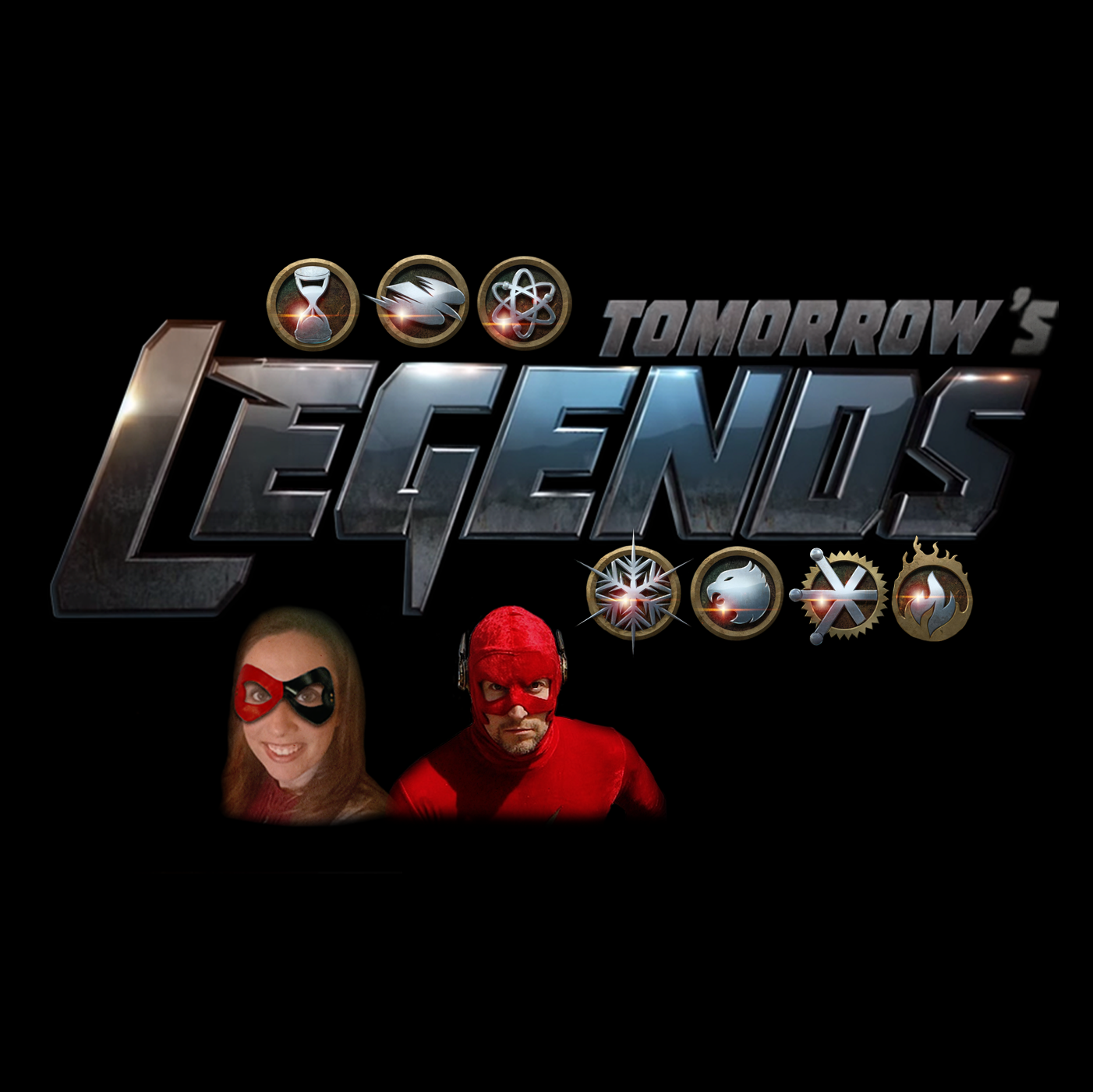 Tomorrow's Legends show art