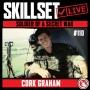 Artwork for Skillset Live Episode #110: Cork Graham - Soldier of a Secret War