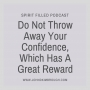 Artwork for Do Not Throw Away Your Confidence, Which Has A Great Reward - Spirit Filled Podcast Episode 86
