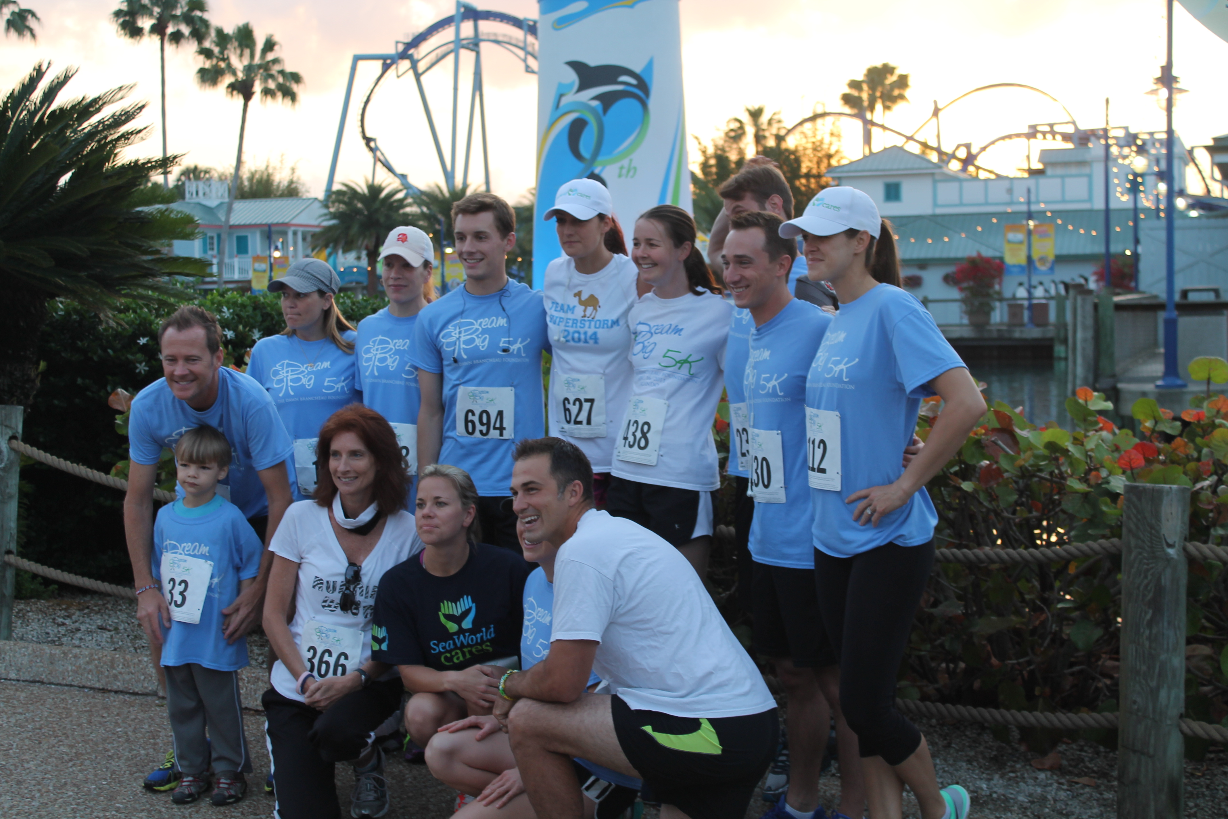 SeaWorld Podcast Ep 22 - Interview with Chuck Cureau and a review of the Dream Big 5k