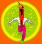 Artwork for Comics on Infinite Earths- The Flaming Carrot & The Mystery Men
