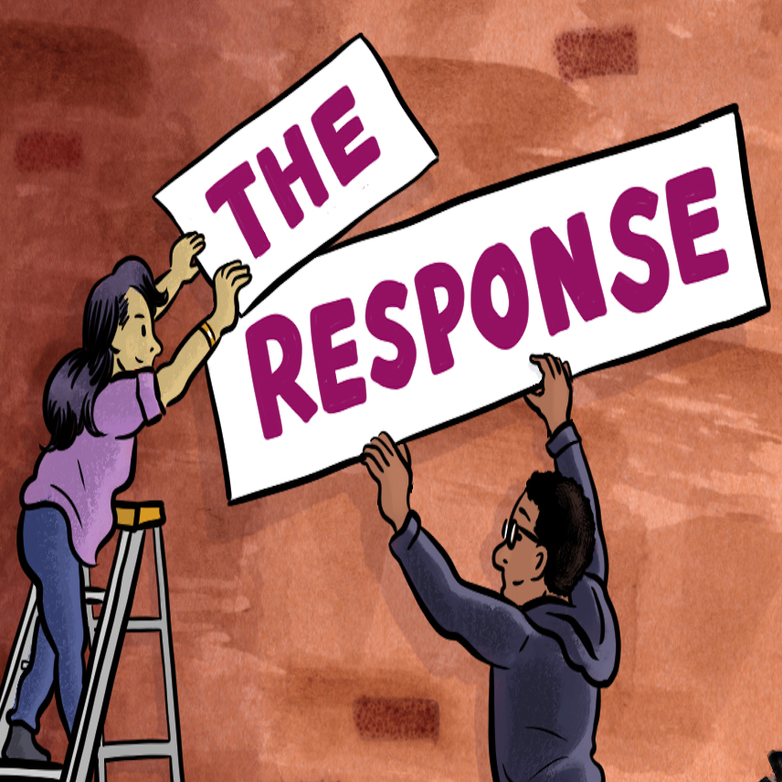 The Response show art