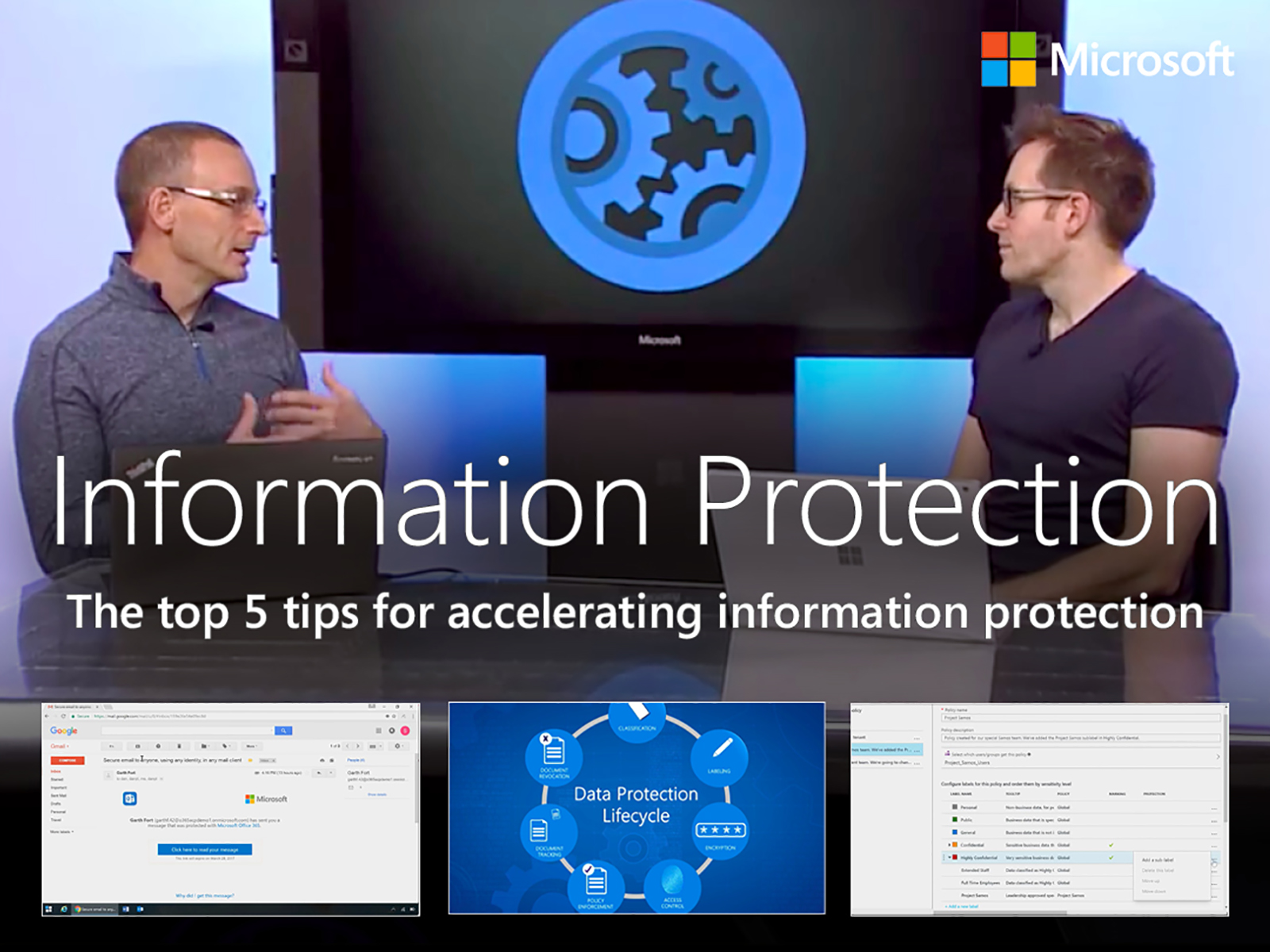 Artwork for The Top 5 Tips for Information Protection