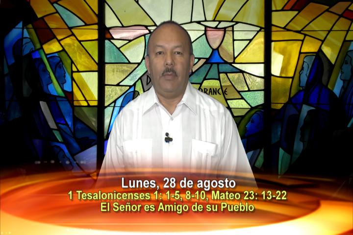 Artwork for Lunes , 28 de agosto 2017  Tema el hoy: El Señor es amigo de su pueblo.
