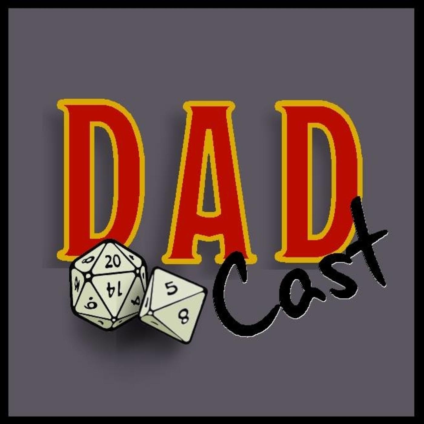 DADcast: A D&D Podcast show art