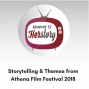 Artwork for Storytelling and Themes from Athena Film Festival 2018