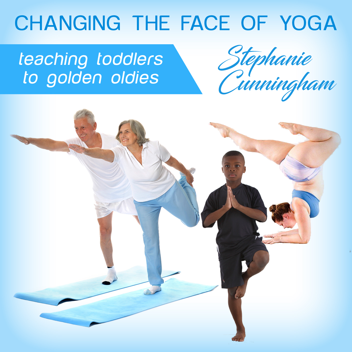 Changing the Face of Yoga Podcast show art