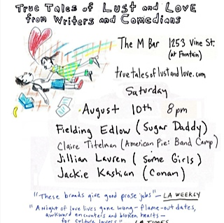 True Tales of Lust and Love, August 10th, 2013