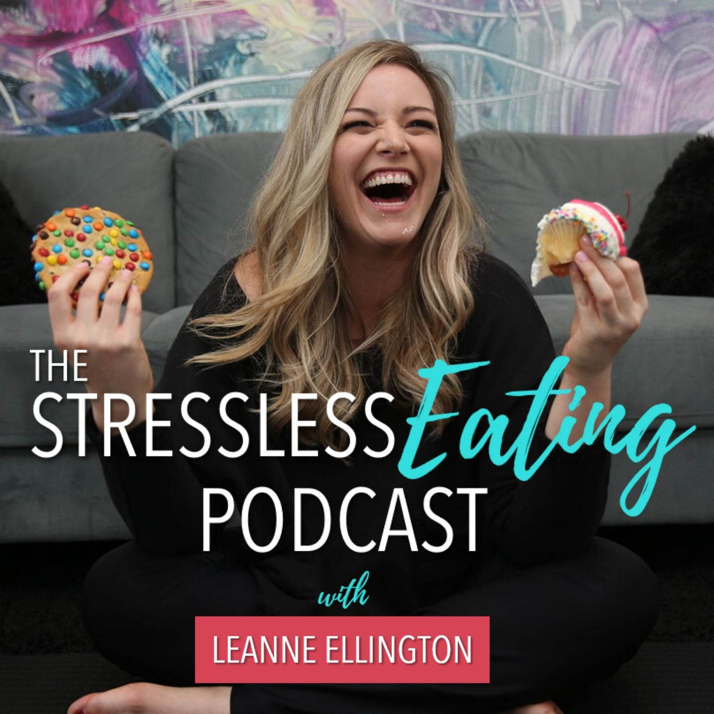 000: About The Stressless Eating Podcast show art